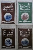 Approximately 250 copies of The Railway magazine, (1916 - 1935).