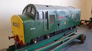 "A 5"" gauge British Rail Class 23 Bo-Bo locomotive, named Sir Thomas Henry, D5902, with petrol"