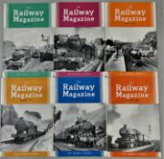 Approximately 180 copies of The Railway Magazine, (1954 - 1968),bound copies of The Railway Magazine