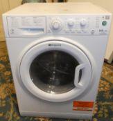 A Hotpoint Aquarius washer drier