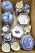 A collection of Ringtons commemorative ceramics.