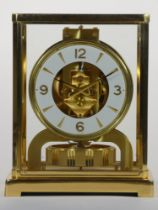 Jaeger-LeCoultre Atmos mantle clock: c1960-70, the open 526/5 calibre movement with