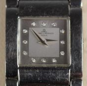 Baume & Mercer, Catwalk Acier, stainless steel ladies wristwatch, c.1999, with guarantee, booklet,