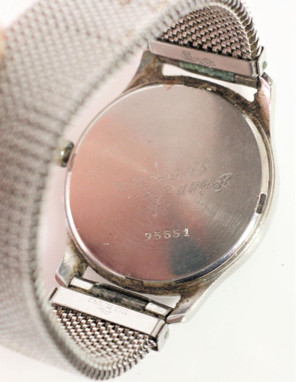 Glycine, Bienne - Geneve, a stainless steel manual wind military wristwatch, luminour numerals, - Image 2 of 3