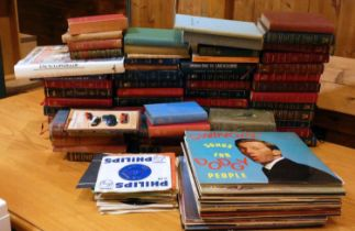 A collection of vinyl LPs & 45s records, artists to include - The Beatles, Frank Sinatra, Andy