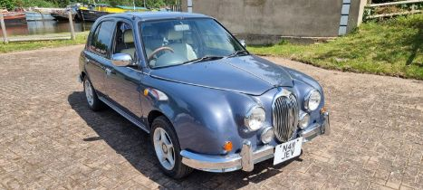 1996 Mitsuoka Viewt, 1298cc. Registration number N411 JEV. Chassis number HK11164881. JEV was