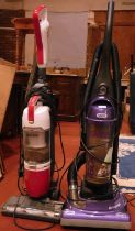 A Samsung vacuum cleaner - SUO 8H, with a Vax upright vacuum cleaner 'Power Swift' (2)