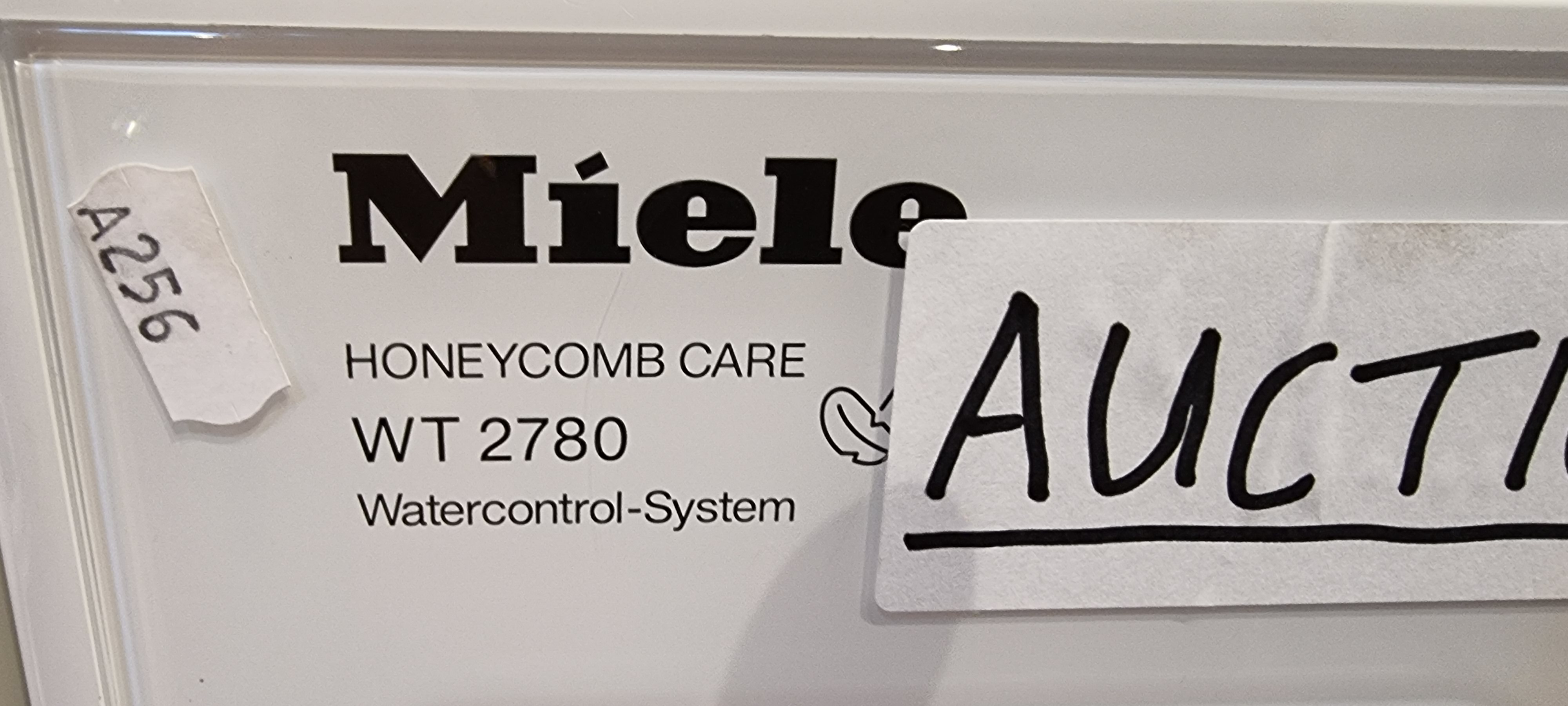 A Miele washing machine, model number WT 2780. - Image 2 of 2