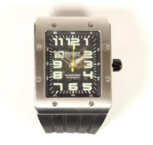 Rotary Editions, 800 Series, 1895, stainless steel automatic gentleman's wristwatch, case number