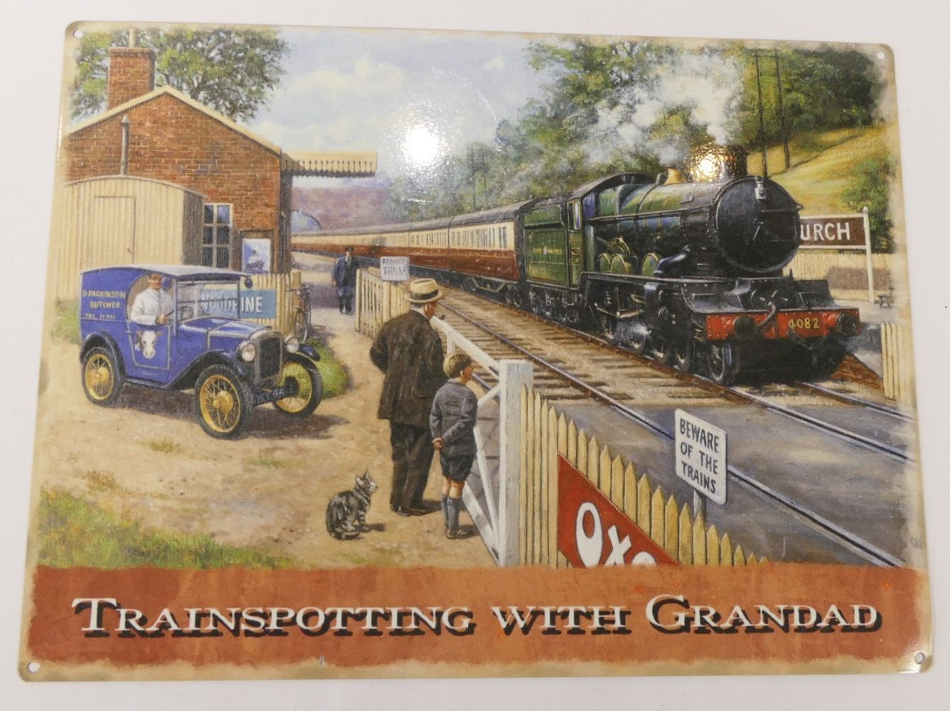 Railwayana, Rail and Steam Heritage, collections available Saturday 10-2, ask us about couriers.