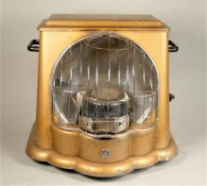 A 1950s Art Deco style paraffin heater by Paul Warma, original and complete with instructions.