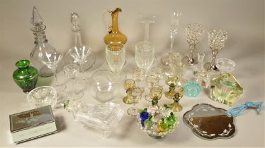 A collection of ceramics to include figurines by Lladro, Nao, Coalport and Wade, together with a