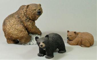 'Winters Edge' handcrafted model bears by Keith Sandulak -2001 (3)