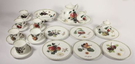 A Royal Albert ' Ballerina' part dinner service with Duchess cups and saucers, together with a