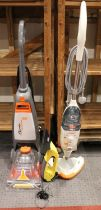 A Vax Rapide Spring Clean carpet cleaner, together with