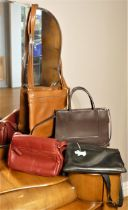 4 Handbags including 3 Radley