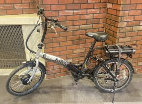An eLife Royale power assisted bicycle, with 20-inch wheels. https://www.