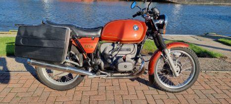 1978 BMW R60/7, 599cc. Registration number UJG 170T. Frame number 6003813. Engine number 6003813.