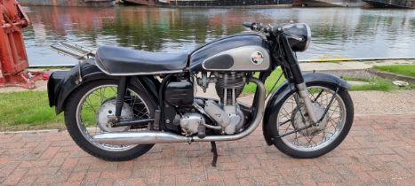 1959 Norton ES2, 490cc. Registration umber TSJ 877 (non transferrable). Frame number R13 84659.