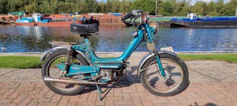 1980 Cimatti, 49cc. Registration number not registered NOVA 22E156296