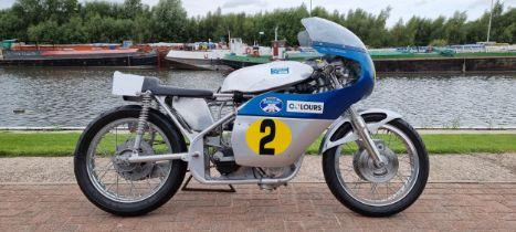 Seeley Mk2 BSA Gold Star Special, 499cc. Registration number not registered. Frame number none