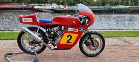 c.1975 Tony Foale Honda 400/4 race bike. Registration number not registered. Frame number,