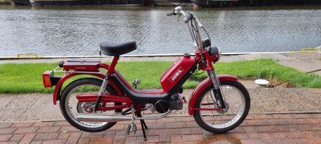 1991 Jawa TLV210 222, 49cc. Registration number not registered. Frame number 38316. Engine number
