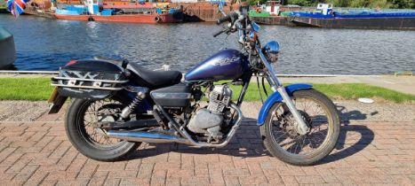 1996 Honda CA125S Rebel, 124cc. Registration number N352 AVR. Frame number JH2JC24AXTK0000890.