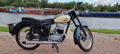 1958 BSA Bantam Super D5, 175cc. Registration number KVG 769A. Frame number FD5 671. Engine number