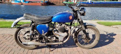 1961 BSA A10, project, 650cc. Registration number WGV 461A. Frame number FA7692. Engine number