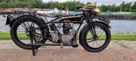 1926 Rudge Whitworth Four Valve Four Speed, Registration number not registered. Frame number painted