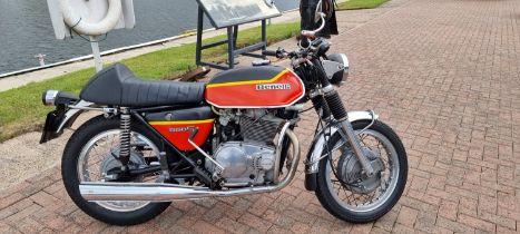 1973 Benelli 650S Tornado, 650cc. Registration number EVN 670L. Frame number 009554. Engine number