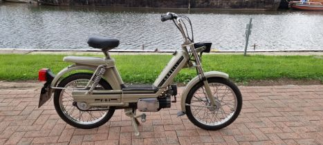 1983 Garelli Moped, 49cc. Registration number A716 MNW. Frame number 00106. Engine number 386341. In