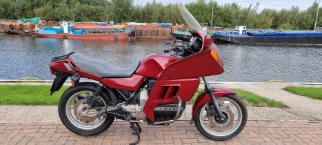 1991 BMW K100, 987cc. Registration number H731 RKW. Frame number 0179794. Engine number not found (