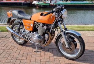 1979 Laverda Jota Mk 1, 180, 981cc. Registration number BHM 903T. Frame number V.1200*6420*