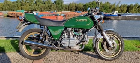 1977 Ducati Darmah, 864cc. Registration number TYU 609S. Frame number DM 860 SS * 900404, DGM