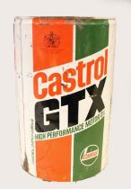 A Castrol GTX barrel, 43 x 28 cm