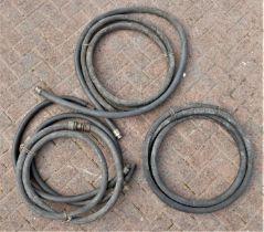 A quantity of Type 19 petrol pump pipe
