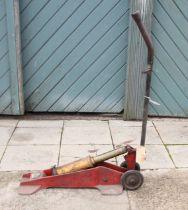 A W.M Turner & Bro Ltd heavy duty tyre inflation pump