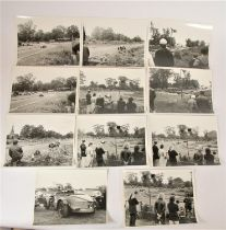 A selection of photographs of Oulton Park, together with a selection of 4 books to include, Audi '
