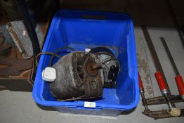 Two vintage electric motors for tools or workshop use