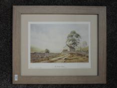 A ltd ed print, after C T Rouse, West Stonesdale Swaledale, numbered 19/350, signed, 28 x 38cm,