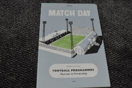 A Volume, Bob Stanley & Paul Kelly, Official Match Day Football Programmes, Post War to