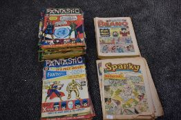 A collection of Fantastic Comics by Power Comic, No1 18 February 1967 complete to No 59 30th March
