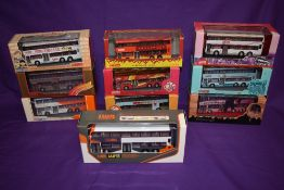 Ten Corgi, Drumwell Ltd & 80M Creative Model Company Limited KMB & LWB diecast buses, including Andy