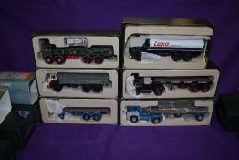 Six Corgi (china) Premium Edition Fleets of Renown and Fuelling the Fifties, 29203, 29202, 23601,