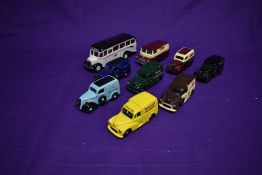Nine modern Corgi (Gt.Britain & China) diecast advertising vehicles including Signsmith, Mitchell'