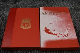 A Limited Edition Volume, This Is Anfield, the photographs of Steve Hale, the words of Andrew
