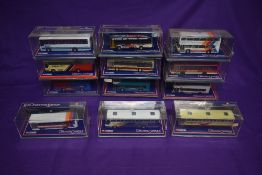 Twelve Corgi (China) Limited Edition Original Omnibus Bus Operators in Britain diecast buses,