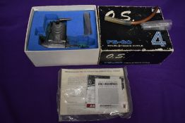 A MFG.Co.Ltd (Japan) OS FS-60 Four Stoke Cycle Model Aircraft Engine, in original box with